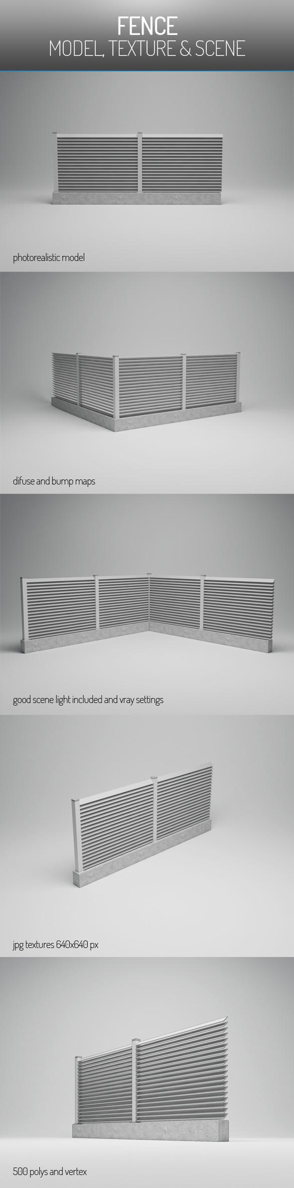 3DOcean Fence 6072380