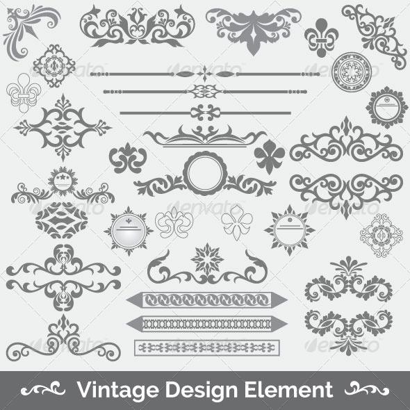 GraphicRiver Vintage Frame 81 6074648