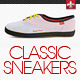 Classic Sneakers Shoes Mock-up - GraphicRiver Item for Sale