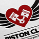 Piston Car and Motorcycle Club Logo - GraphicRiver Item for Sale