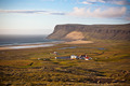 Icelandic Landscape with small Location at Ocean Coastline - PhotoDune Item for Sale