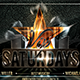 VIP Saturdays Flyer Template - GraphicRiver Item for Sale