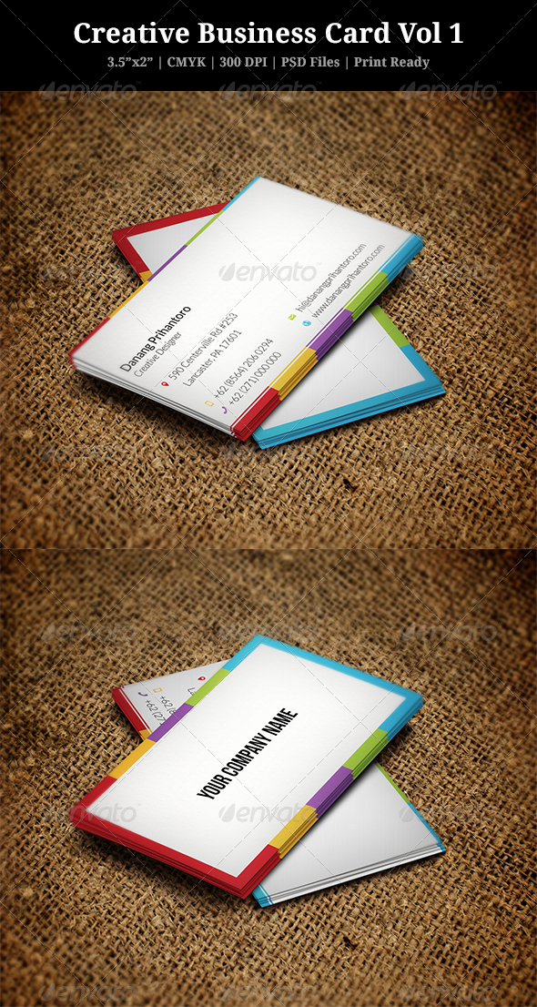 GraphicRiver Creative Business Card Vol 1 Danang Prihantoro 6080748