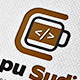 Coffee developer Studio Logo - GraphicRiver Item for Sale