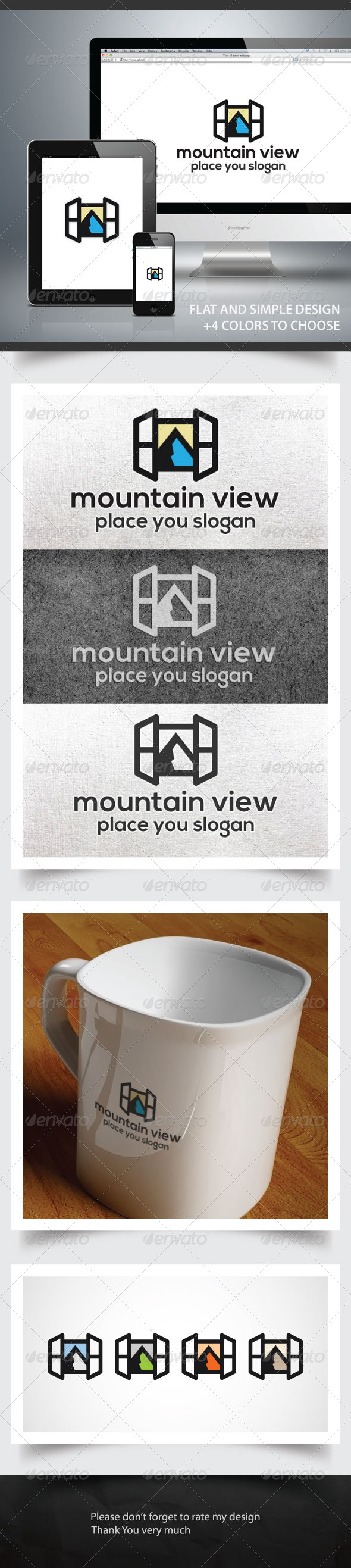 GraphicRiver Mountain View 6082033