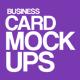 Business card Mock-Ups (musik) - GraphicRiver Item for Sale