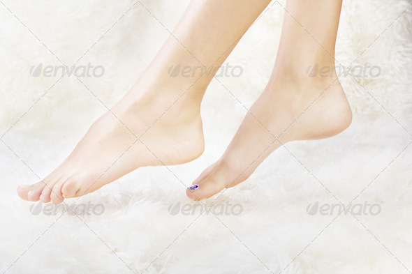 healthy legs - Stock Photo - Images