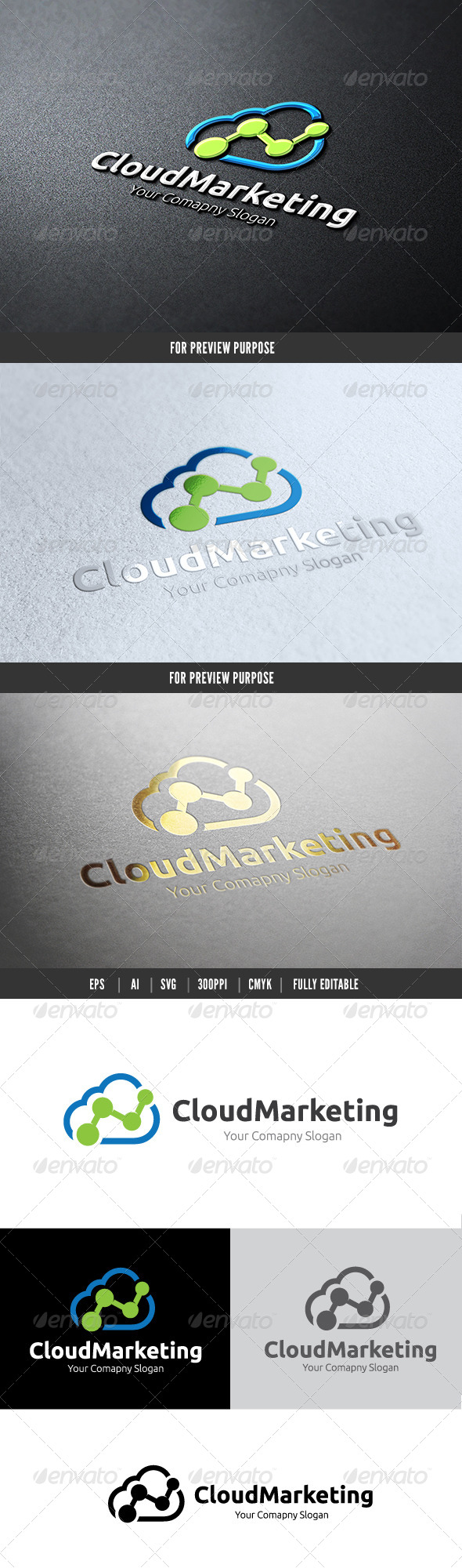 GraphicRiver Marketing Cloud 6083735