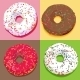 Donuts Set - GraphicRiver Item for Sale