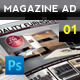 Magazine Advert Template 001 - GraphicRiver Item for Sale