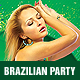 Brazilian Party Flyer - GraphicRiver Item for Sale