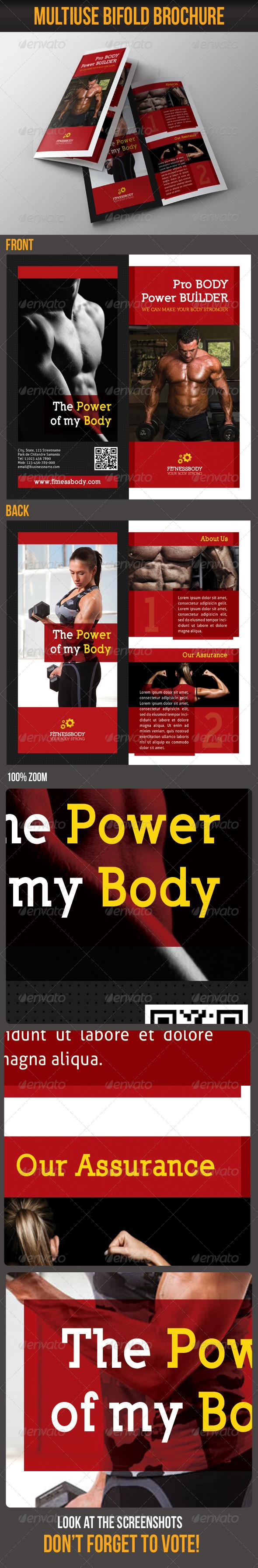GraphicRiver Multiuse Bifold Brochure 08 6085702