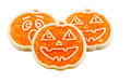 Halloween Cookies on White Background - PhotoDune Item for Sale
