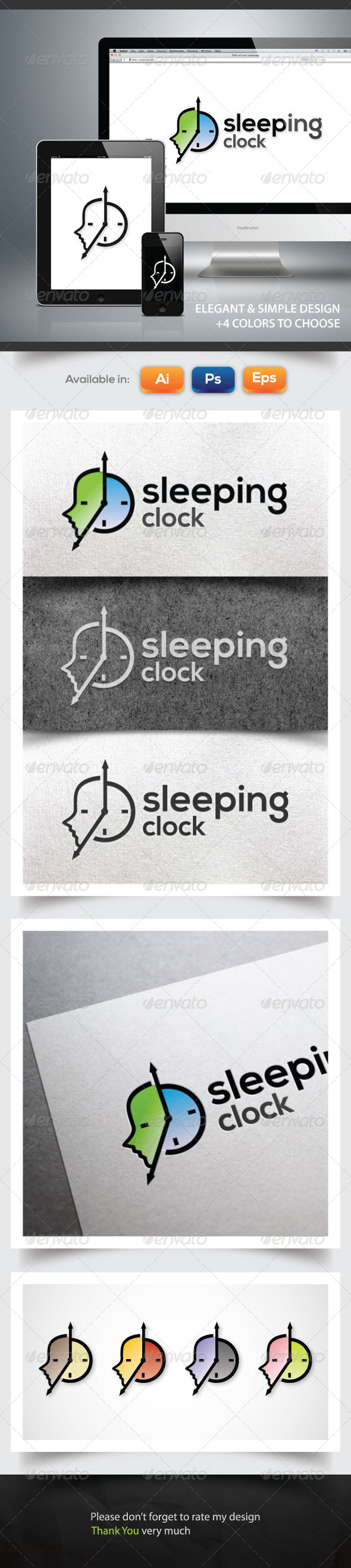 GraphicRiver Sleeping Clock 6088204
