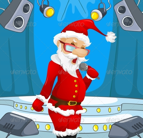 GraphicRiver Santa Claus 6089014