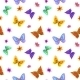 Butterflies and Flowers - GraphicRiver Item for Sale