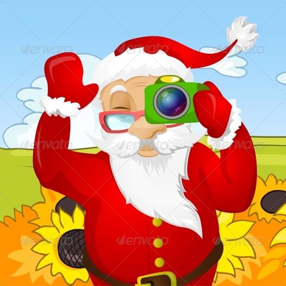 GraphicRiver Santa Claus 6089058