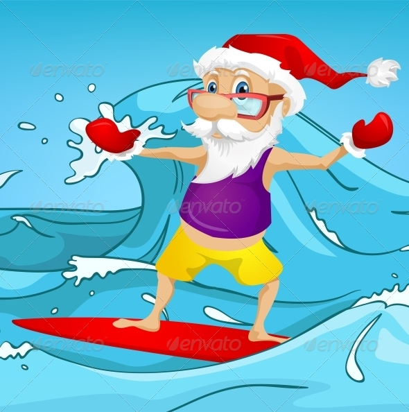 GraphicRiver Santa Claus 6089087