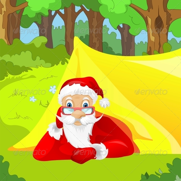 GraphicRiver Santa Claus 6089275