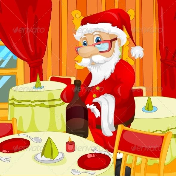 GraphicRiver Santa Claus 6089383