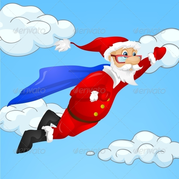 GraphicRiver Santa Claus 6089402