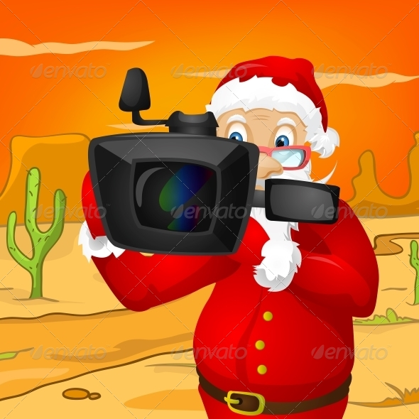 GraphicRiver Santa Claus 6089456