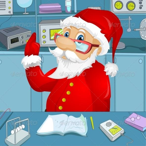 GraphicRiver Santa Claus 6089582