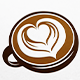 Coffee Cup Art Logo - GraphicRiver Item for Sale