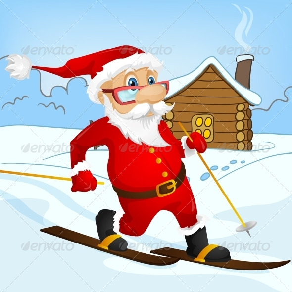 GraphicRiver Santa Claus 6089778