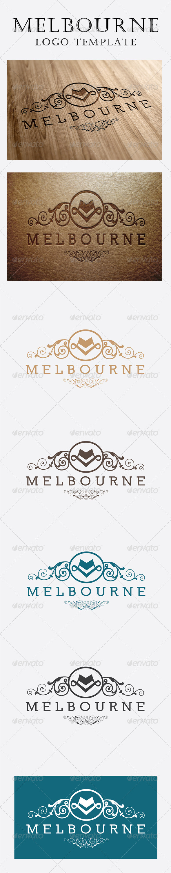 GraphicRiver Melbourne Logo 6091644