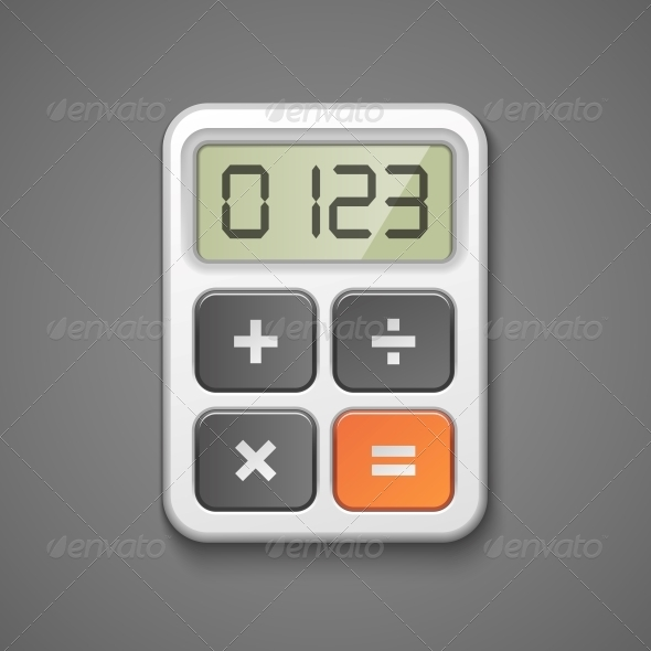 GraphicRiver Calculator Icon 6092060