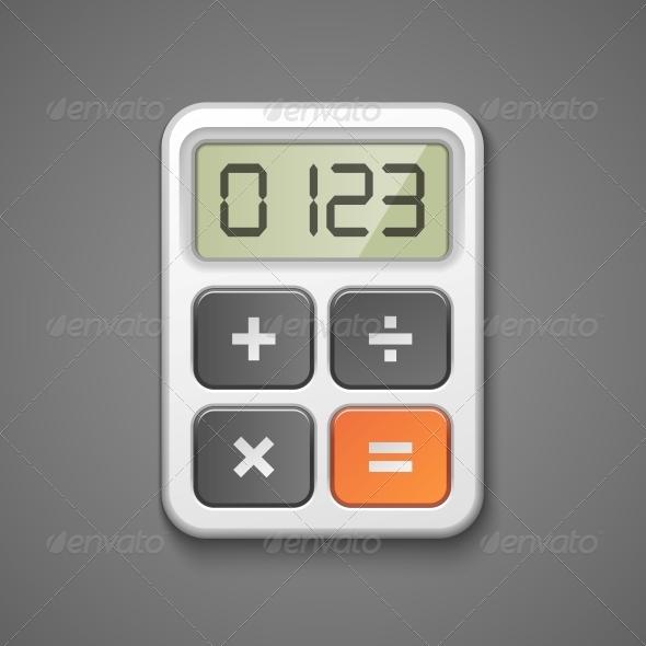 GraphicRiver Calculator Icon 6092060