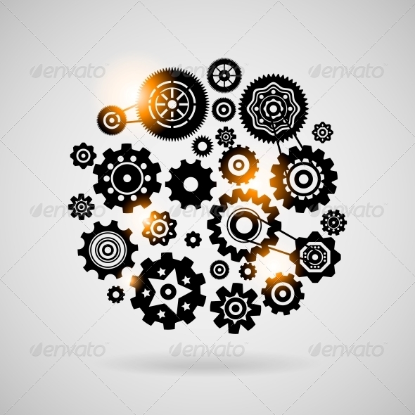GraphicRiver Cogs and Gears 6092061