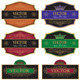 Set vector vintage labels - GraphicRiver Item for Sale