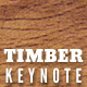 Timber Keynote Presentation Templates - GraphicRiver Item for Sale