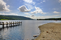 Shore of Coniston Water and jetty - PhotoDune Item for Sale