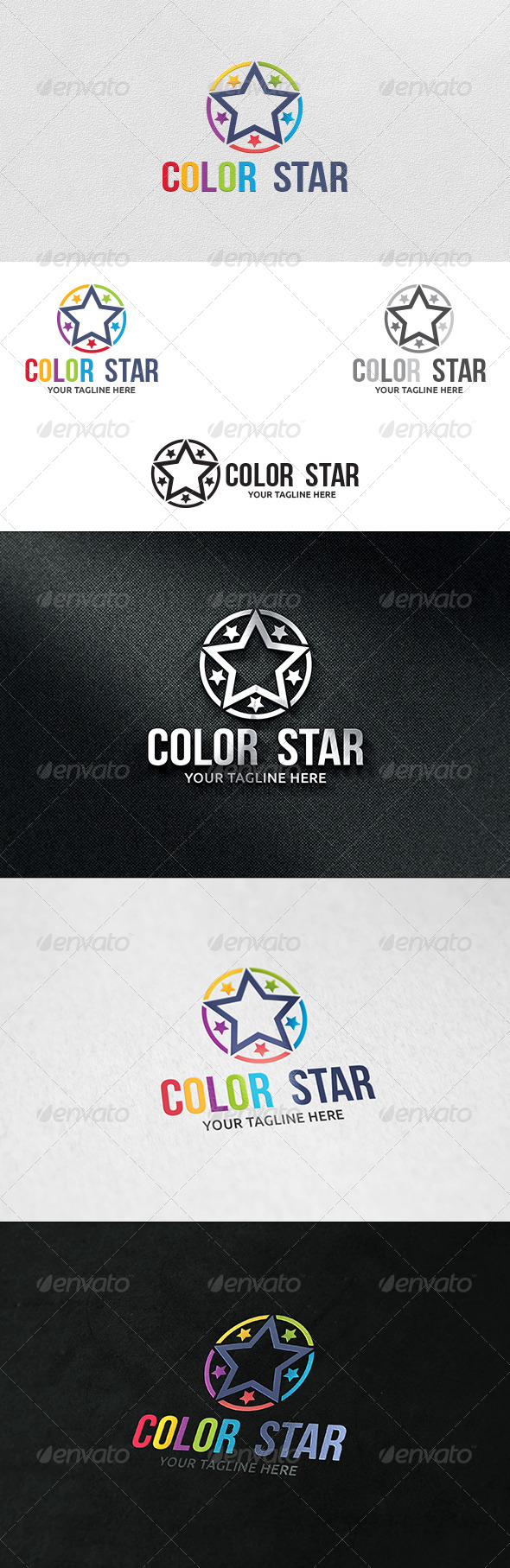 GraphicRiver Color Creative Logo Template 6093910