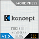 Koncept 10 in 1 - Business & Portfolio Wordpress - ThemeForest Item for Sale