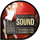 Music & Event Flyer - Listen to this Sound - GraphicRiver Item for Sale