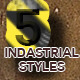5 Industrial Styles - GraphicRiver Item for Sale
