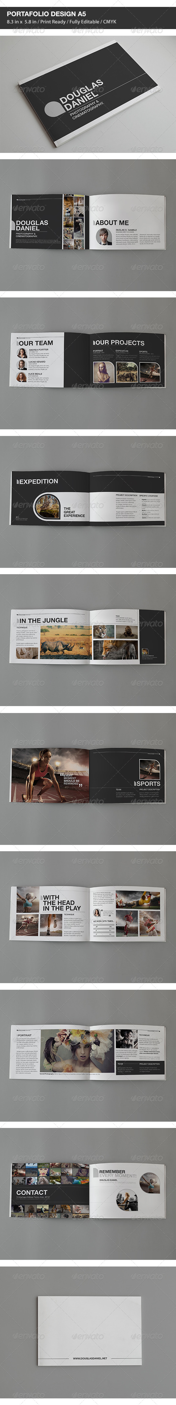 GraphicRiver DD Portfolio Design A5 6095103