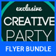 Party Flyer Bundle 4 - GraphicRiver Item for Sale