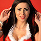 Brunette Gril in Sexy Christmas Costume - VideoHive Item for Sale
