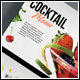 Cocktail Menu Template - GraphicRiver Item for Sale