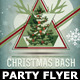 Christmas Minimal Party Flyer-Poster - GraphicRiver Item for Sale