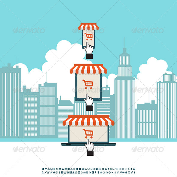 GraphicRiver Online Mobile Electronic Store 6098583