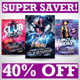Intense Club Party Flyers Super Bundle - GraphicRiver Item for Sale