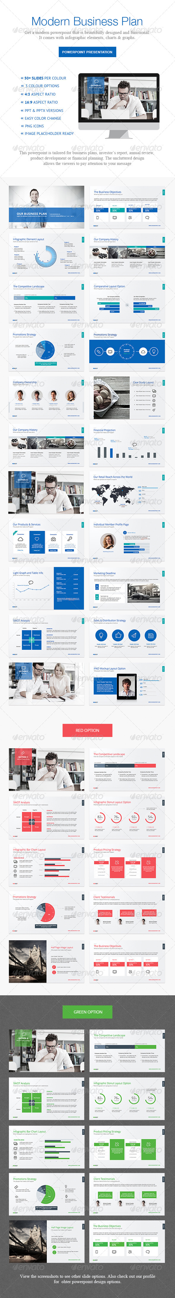 GraphicRiver Business Plan Powerpoint 6098844