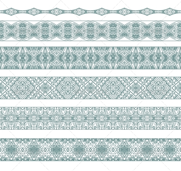 GraphicRiver Ornamental Seamless Pattern 6099509
