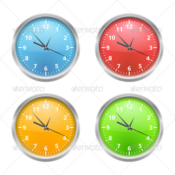 GraphicRiver Clock 6101398
